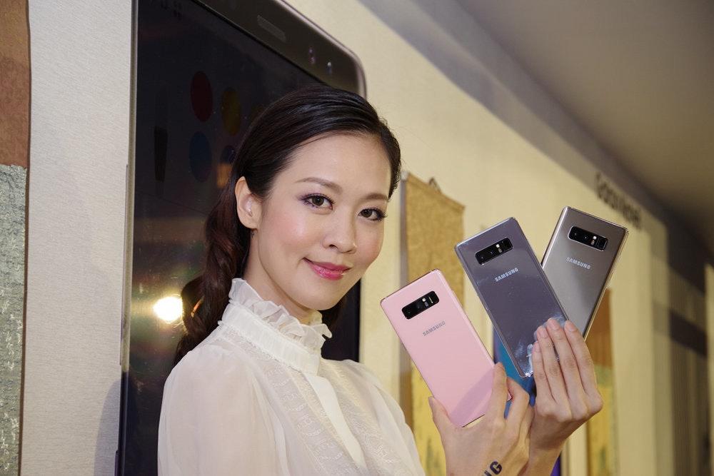 是三星 Galaxy Note 8 九月中旬上市,星砂粉領先全球十月在台登場這篇文章的首圖
