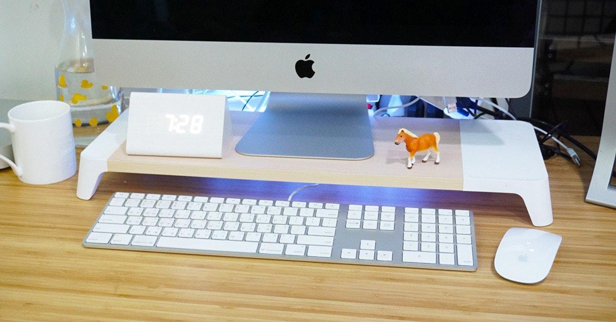 是Pallo 木質螢幕架開箱 支援 iPhone 8 / X 無線充電、USB擴充任你選這篇文章的首圖