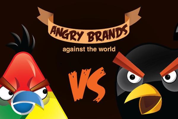 是憤怒鳥不是只會打小豬,這次變身各個品牌!這篇文章的首圖