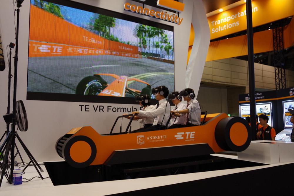 是CEATEC 2017 : TE 透過 VR 互動設備體驗搭乘 Formula E 奔馳的快感這篇文章的首圖