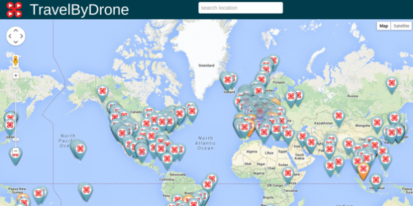 是宅在家又有新理由了!全球空拍影片地圖上線!這篇文章的首圖