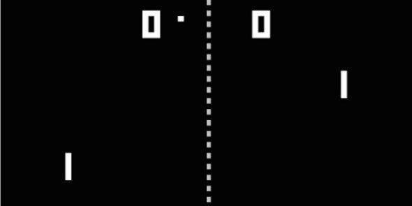 是經典遊戲 Pong 背後的故事這篇文章的首圖