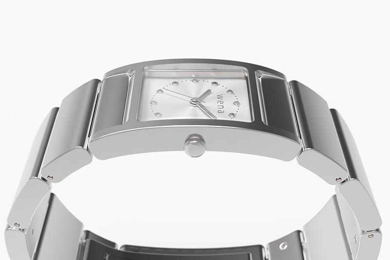 是WENA 智慧錶推出鎖定淑女市場的方形錶款版本,並提供施華洛世奇特仕版這篇文章的首圖