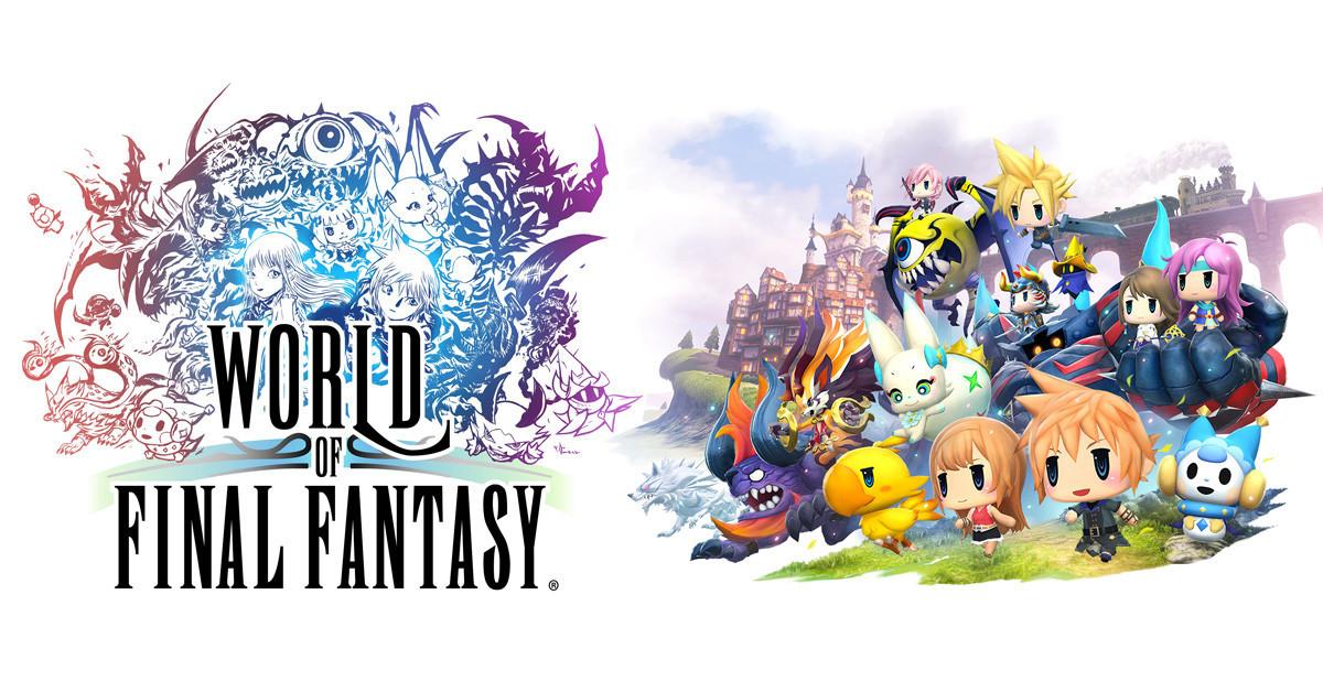 是充滿經典FF元素的精緻遊戲:太空戰士世界World of Final Fantasy這篇文章的首圖