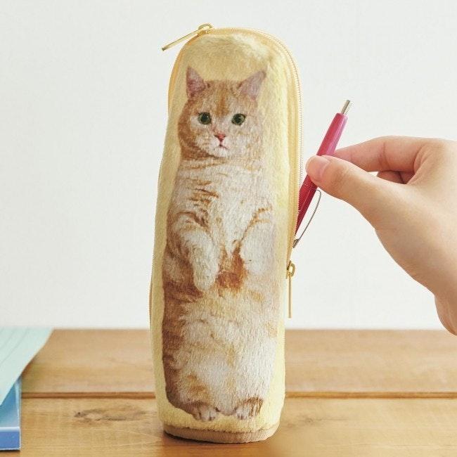 是日本貓網紅「Pooh將」推出站立筆袋這篇文章的首圖