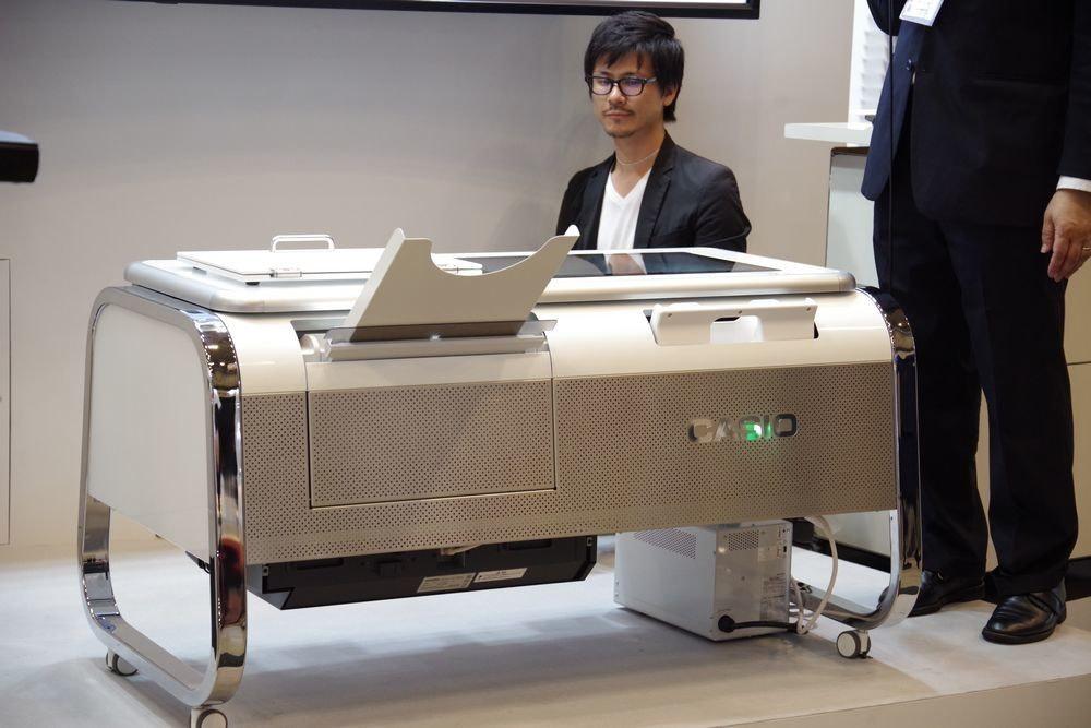 是CEATEC 2017 : Casio Mofrel 2.5D 列印機可將紙張與塑膠呈現宛若布料與編織般的質感這篇文章的首圖