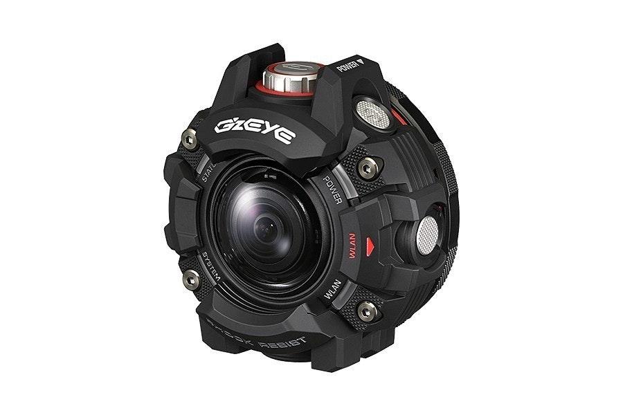 是CASIO鏡頭可分離運動相機將歸於G』z EYE品牌 強調G-Shock防護技術這篇文章的首圖
