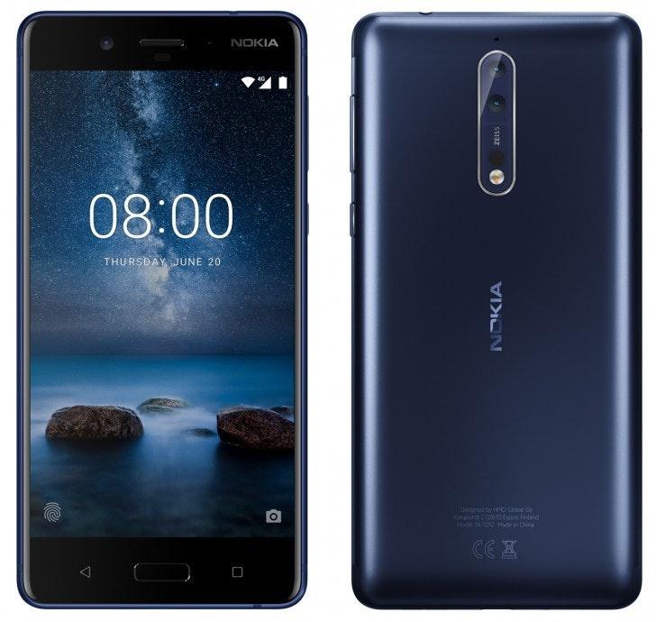 是Nokia 高階機 Nokia 8 外觀暴露,將提供 5.3 吋螢幕與高通 Snapdragon 835 處理器這篇文章的首圖