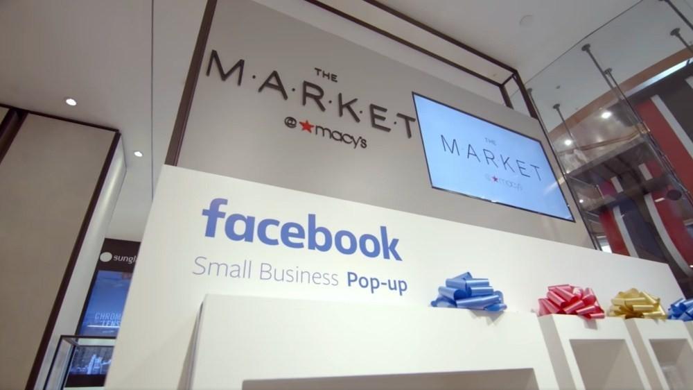 是Facebook攜手梅西百貨打造快閃概念店 推廣其線上廣告業務這篇文章的首圖