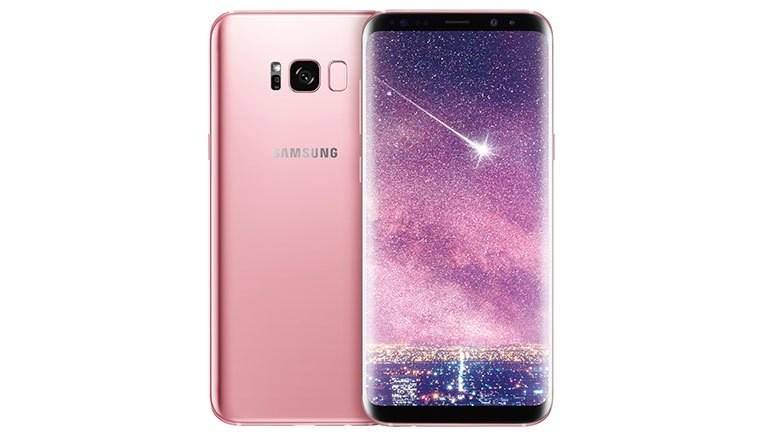 Samsung Galaxy S8+, Samsung Galaxy S8 Dual 64GB 4G LTE Rose Pink (SM-G9500) Unlocked, Samsung Galaxy Note 8, Samsung Galaxy S9, , Samsung, Samsung Group, rose pink, Pink, 64 gb, samsung s8 pink, mobile phone, gadget, portable communications device, product, feature phone, communication device, electronic device, smartphone, magenta, telephone