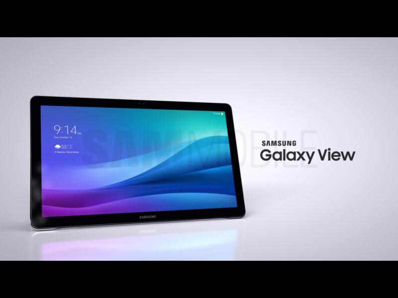 是三星18.4吋大型平板 Galaxy View更多細節曝光這篇文章的首圖