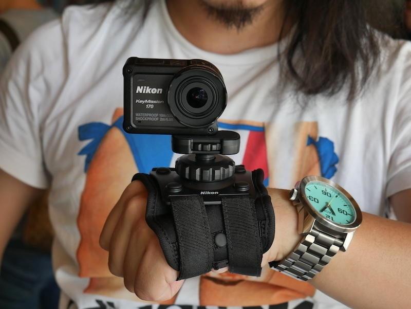 是4K 規格、裸機防水防塵運動攝影機新星 Nikon KeyMission 170 實測這篇文章的首圖
