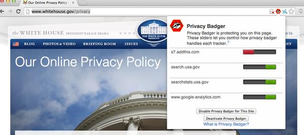 是電子前鋒基金會(EFF)推出隱私維護附加程式,來對抗拒絕 DNT 的網路服務這篇文章的首圖