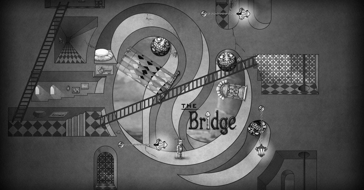 是巧妙玩弄物理定律與錯視藝術的解謎遊戲:謎橋The Bridge這篇文章的首圖