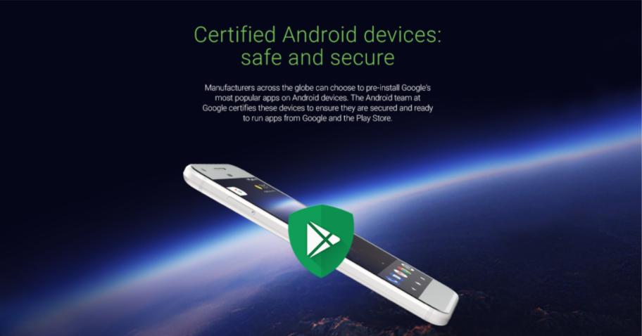 是Google 認證裝置將預載 Google Play Protect 安全軟體這篇文章的首圖