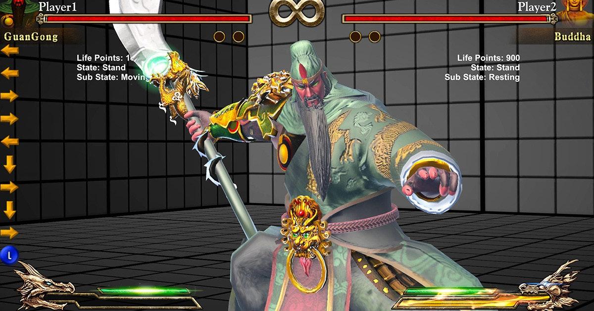 是國產2D格鬥遊戲《眾神之鬥》Fight of Gods 讓你體驗與諸神較勁的快感 這篇文章的首圖