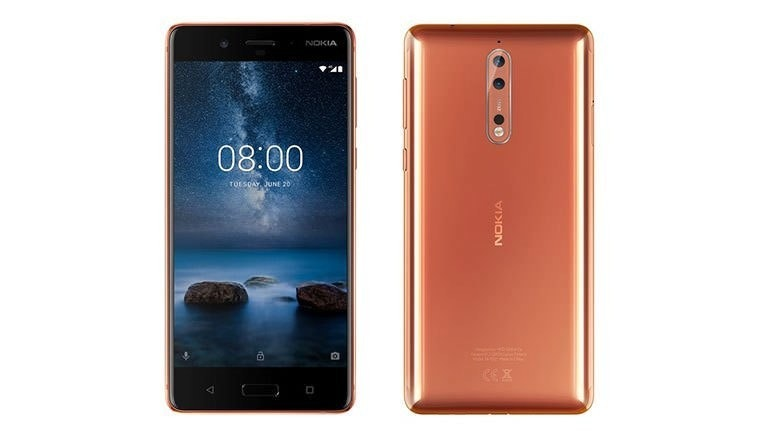 Nokia 6, 諾基亞, Nokia 8 Dual 64GB 4G LTE Tempered Blue (TA-1052) Unlocked, Smartphone, Nokia 6.1, Nokia 8 TA-1052 64GB 4GB Ram Dual Copper Unlocked GSM, Android, Nokia 8 4GB Ram 64GB Dual SIM - Polished Copper, Dual SIM, 64 gb, nokia 8 copper, mobile phone, feature phone, gadget, communication device, portable communications device, electronic device, product, smartphone, cellular network, product