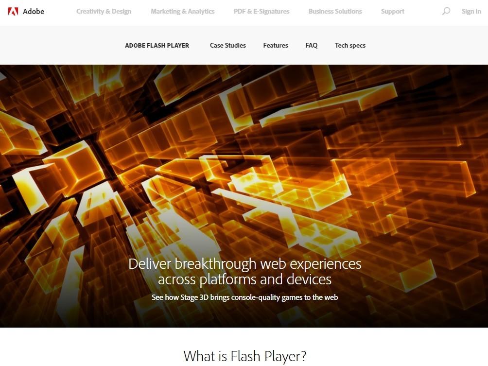 是還剩不到三年! Adobe 宣布 2020 年底前 Flash 將停止更新這篇文章的首圖