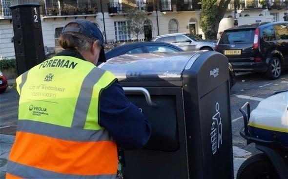 是智慧垃圾桶 用太陽能發短訊這篇文章的首圖
