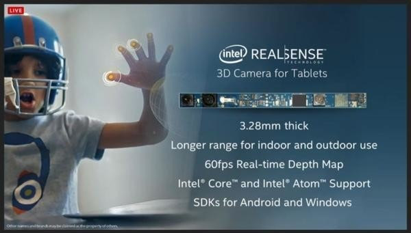 是Computex 2014:Intel RealSense 3D 攝影機 準備100萬美金等你拿出好軟體這篇文章的首圖