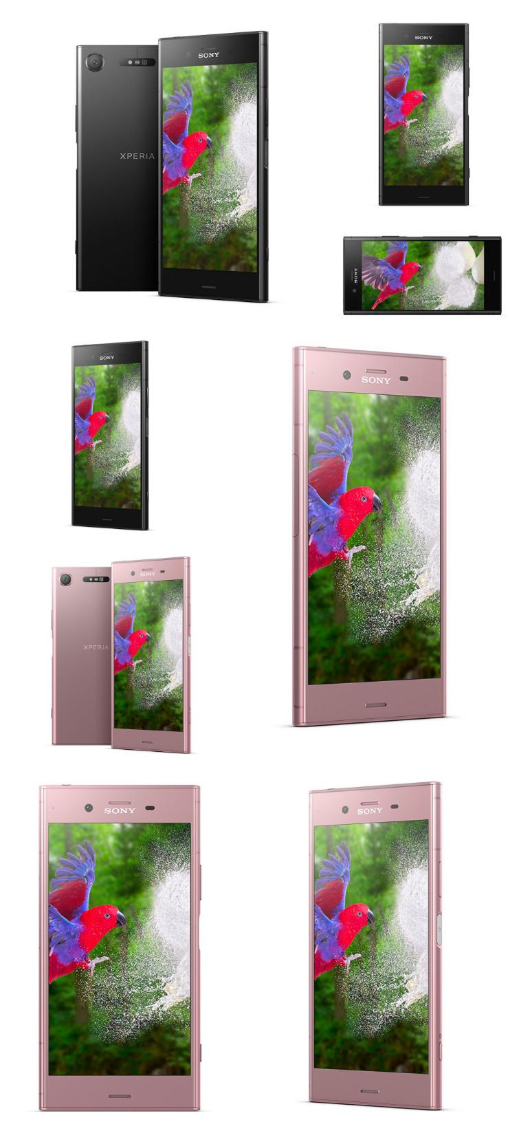 是Sony Xperia XZ1大量官方渲染圖遭曝光!確定黑/粉色!這篇文章的首圖