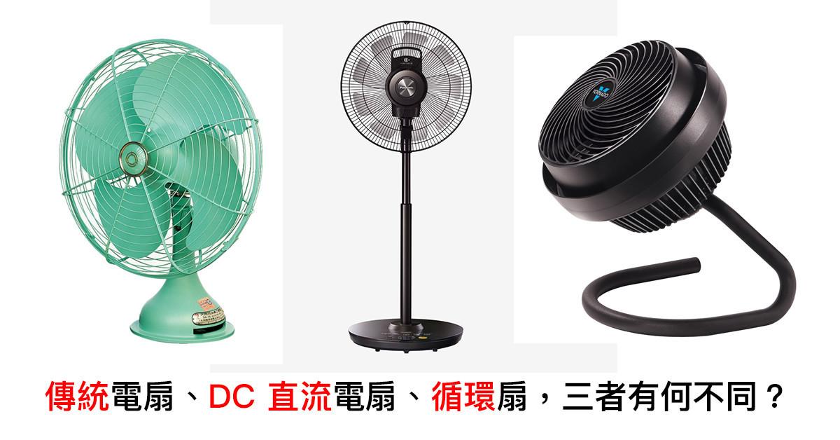 是[家電醫生] 季節家電選購指南(二):「電風扇」類型百百種,但我們該如何選購?(上)這篇文章的首圖