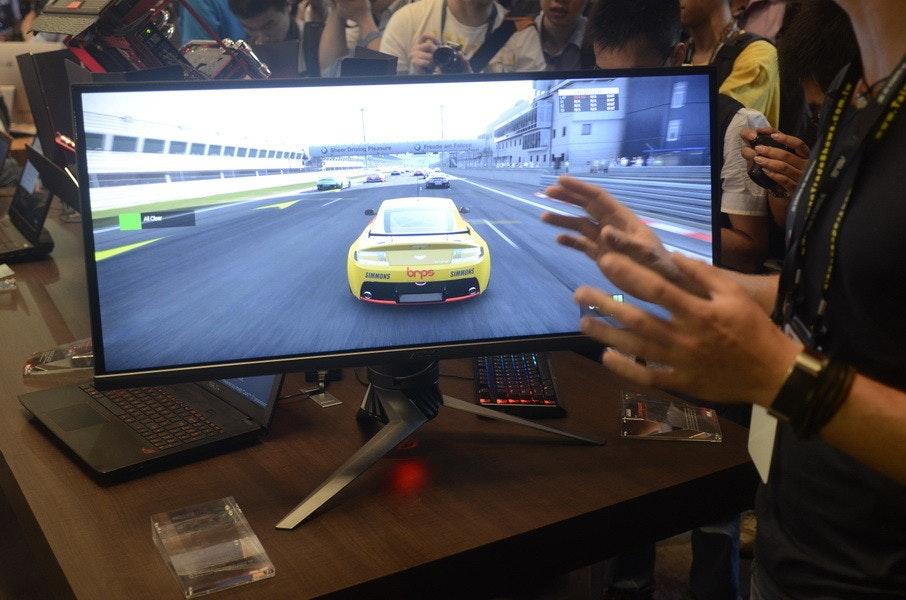 是Computex 2015:ROG 34吋曲面G-SYNC顯示器,真酷炫這篇文章的首圖
