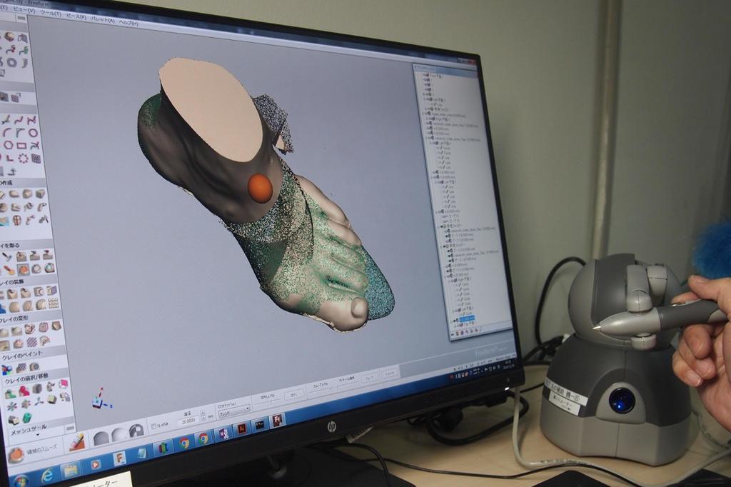 是[面白日本] 用 3D 幫你建腳模再訂製一雙好鞋,猜猜要價多少錢?這篇文章的首圖