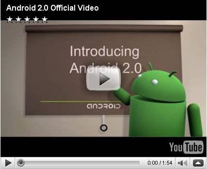 是Android 2.0 (Eclair) SDK 這篇文章的首圖