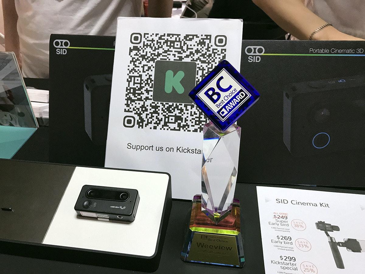 是Computex 2017:2K高畫質SID 獨立型3D攝影機這篇文章的首圖