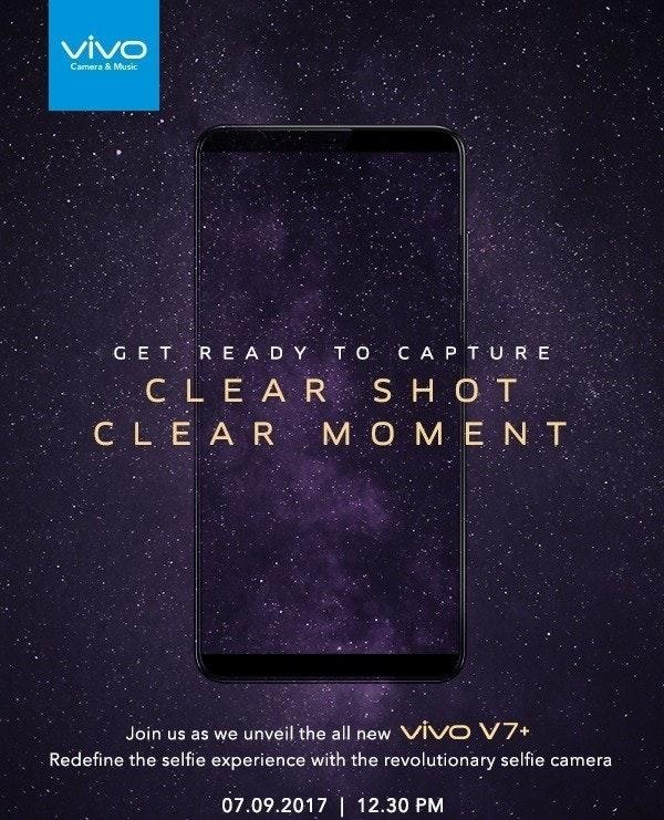 是vivo也展開行動了!官方公布最新全面屏手機V7+:9月7日正式發布!屏佔比媲美Samsung!這篇文章的首圖