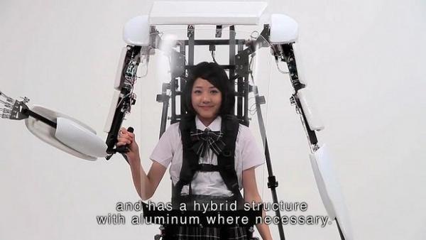 是[科技新報]進化中的機器人 史上首款「動力外骨骼 Power Jacket MK3」上市這篇文章的首圖