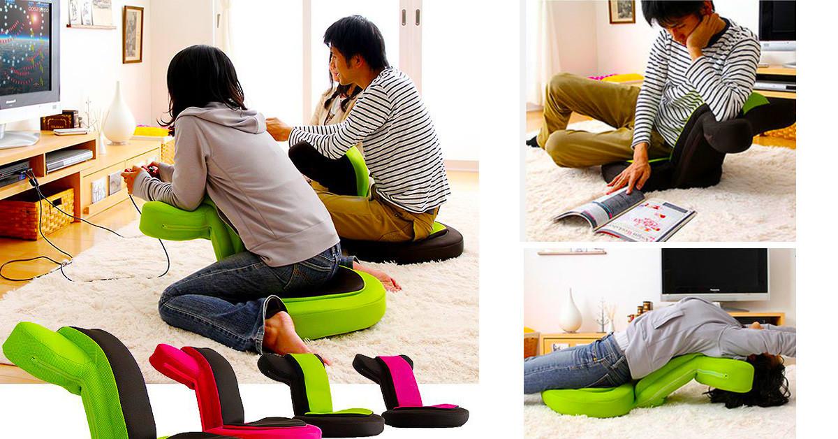 是把和室椅反過來坐的遊戲椅這篇文章的首圖