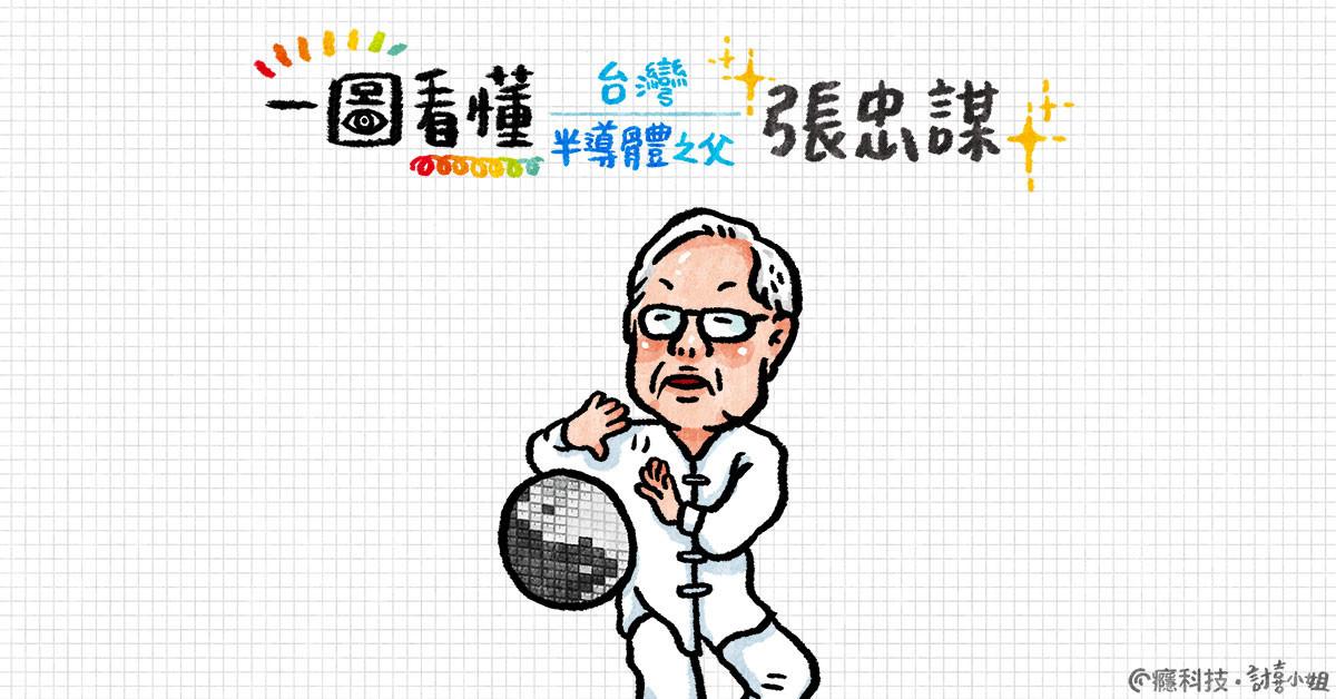 是一圖看懂 台灣半導體之父 張忠謀這篇文章的首圖