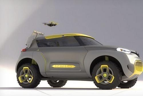 是雷諾(Renault)概念越野休旅 Kwid 隨車附小飛機替您探路這篇文章的首圖