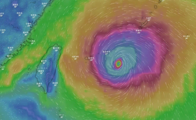 是颱風眼在哪裡?颱風線上即時動態網頁立刻看這篇文章的首圖