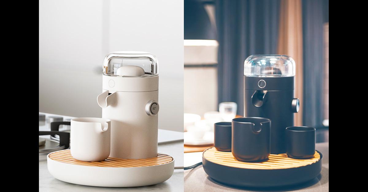 是Teamosa智慧型茶具讓泡茶更聰明 可使用膠囊沖泡與手機設定壓力溫度這篇文章的首圖
