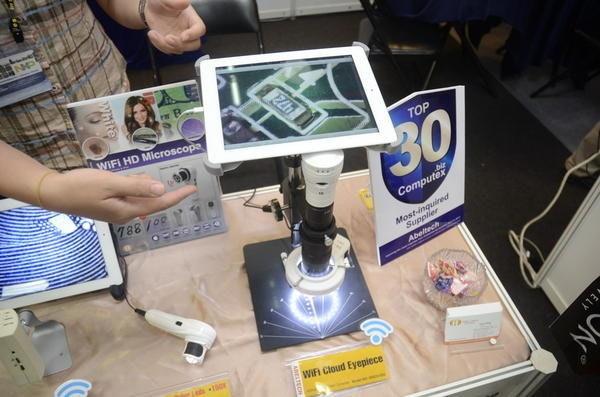 是Computex 2014:能夠以Wifi傳輸影像資訊的顯微鏡這篇文章的首圖