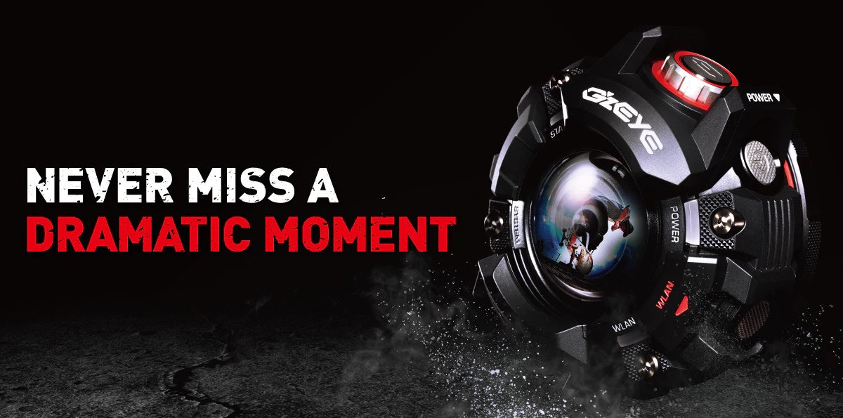 是G-SHOCK風格運動相機 卡西歐GZE-1這篇文章的首圖
