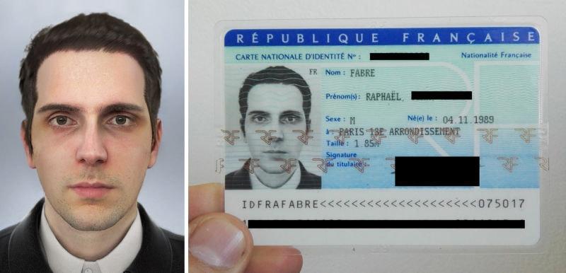 是到底是加工技術太強還是審核太瞎?法國藝術家用一張 CG 申請身分證成功這篇文章的首圖