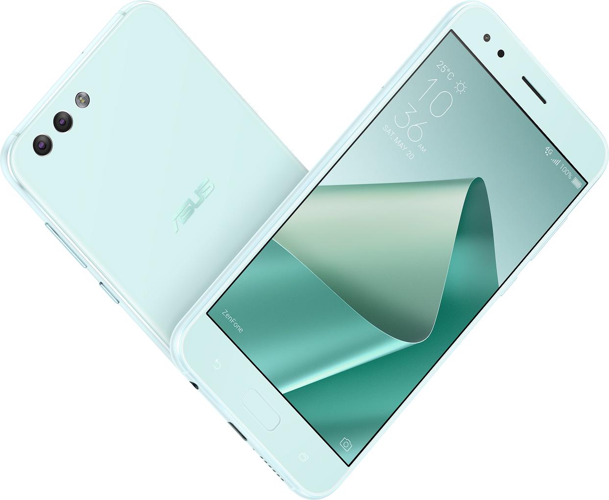 是孔劉最愛的 ZenFone 4「薄荷綠」新色粉漾登場這篇文章的首圖