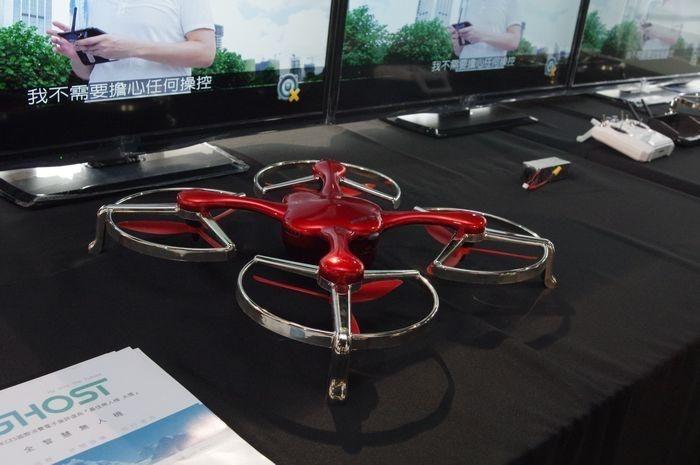 是跟進空拍熱,國祥貿易宣布在台推出億航 Ghost 空拍機這篇文章的首圖