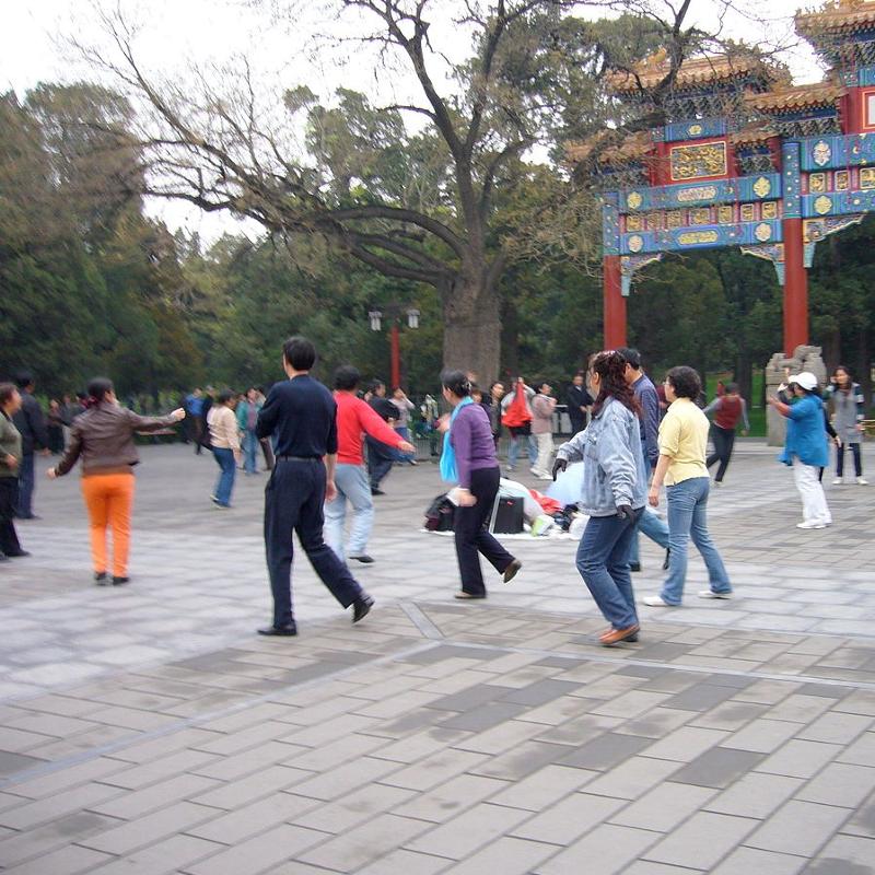 是中國又禁廣場舞,裡面卻有獲利新藍海這篇文章的首圖