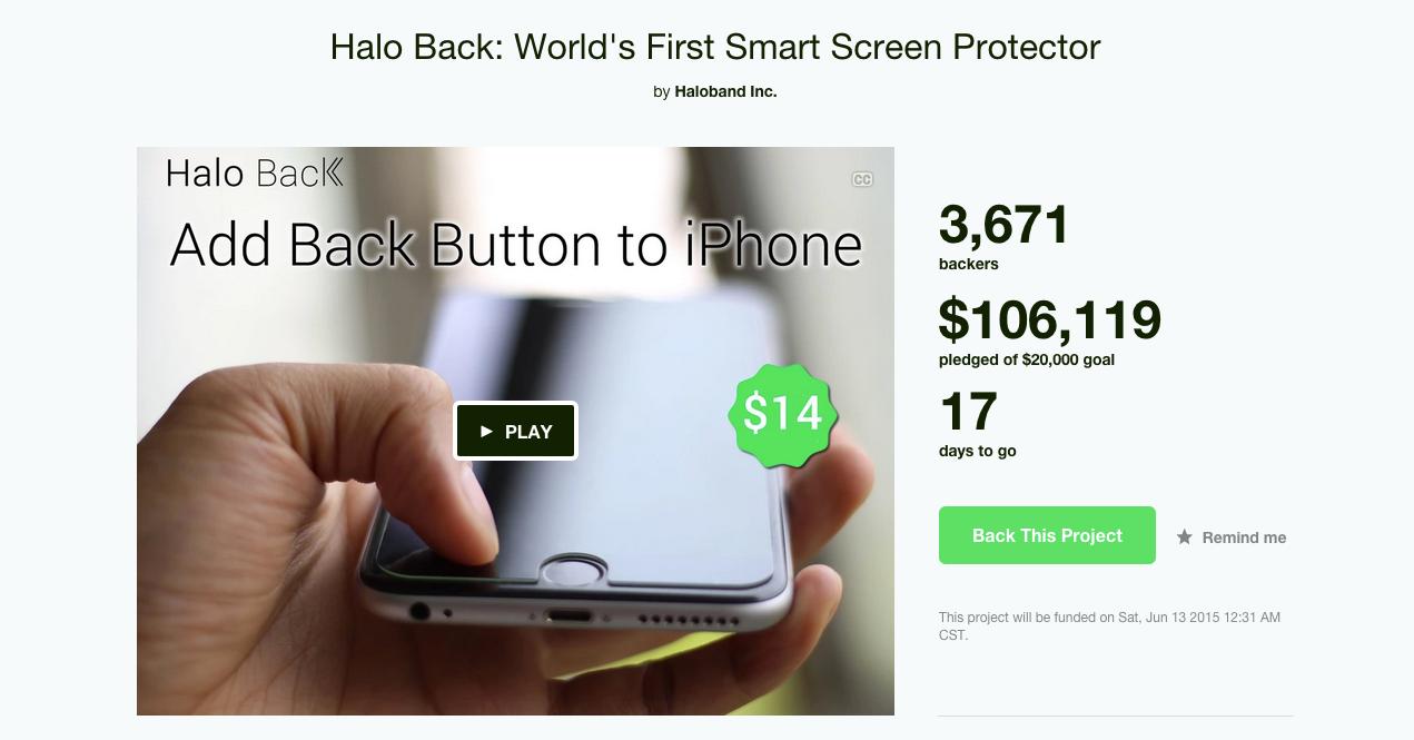 """是減少 Android 原始用戶轉至 iOS 系統痛苦指數的 """"返回鍵"""" 螢幕保護貼這篇文章的首圖"""