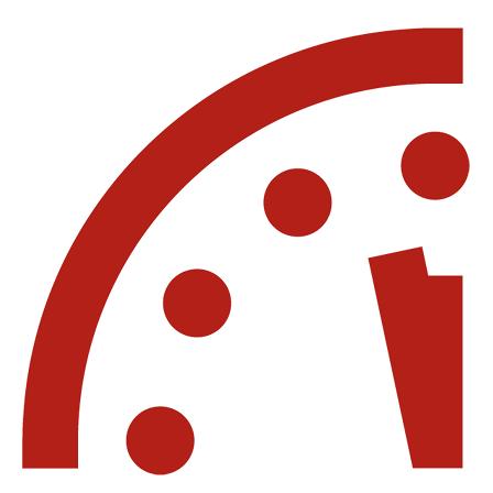 是連2年距離危險午夜只剩2分鐘!你知道什麼是「末日時鐘」嗎?這篇文章的首圖