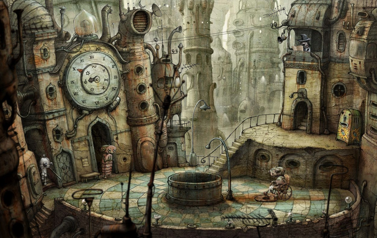 是Steam遊戲特價快訊:机械迷城《Machinarium》現在特價59元 便宜140元這篇文章的首圖