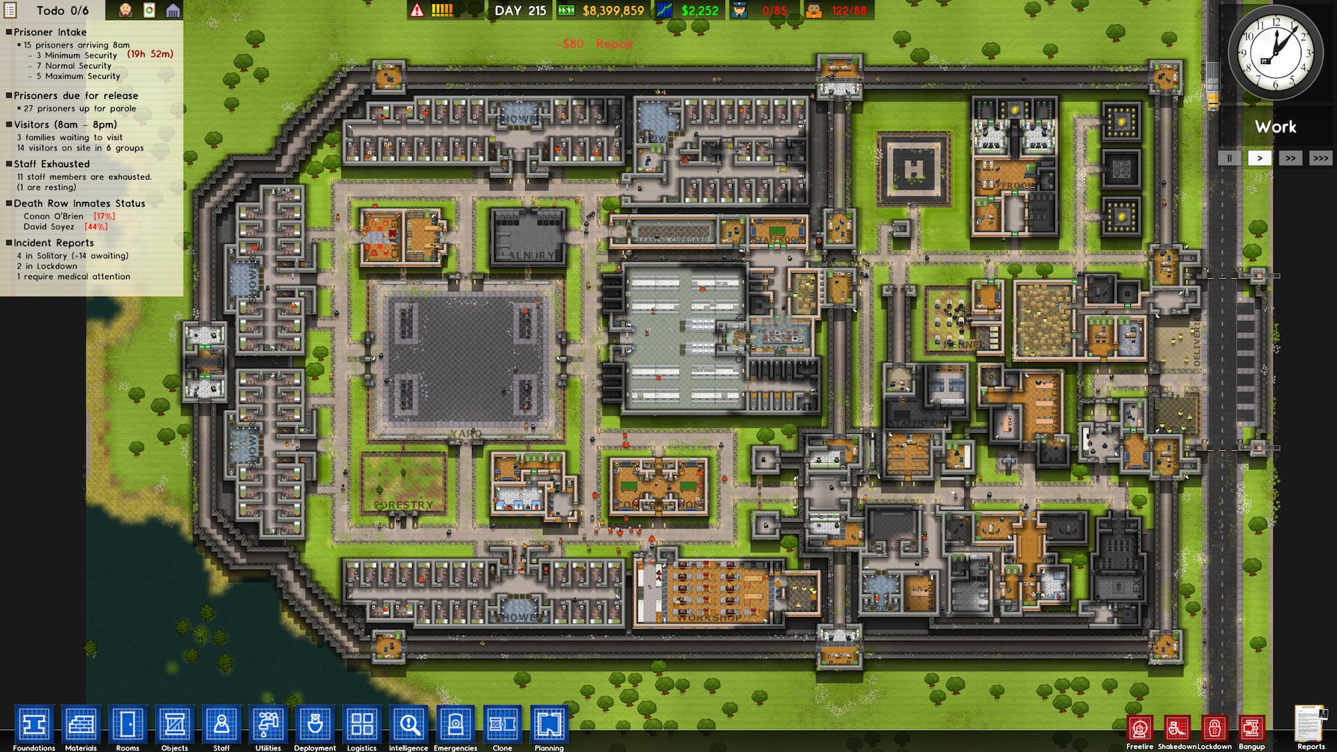 是Steam遊戲特價快訊:监狱建筑师(Prison Architect) 現在特價109元 便宜329元這篇文章的首圖