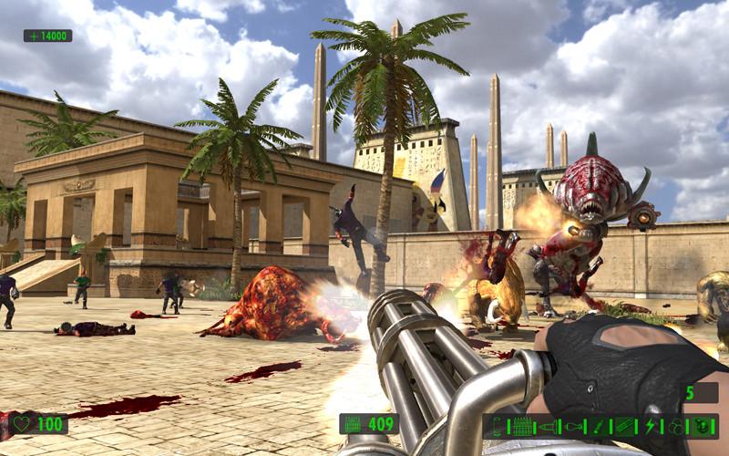 是Steam遊戲特價快訊:Croteam《Serious Sam HD: The First Encounter》現在特價59元 便宜339元這篇文章的首圖