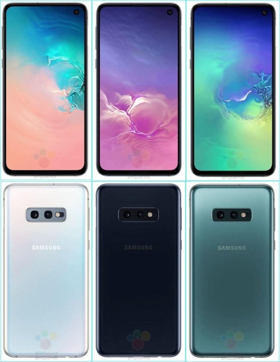 是Galaxy S10E預計加入多彩設計、與蘋果iPhone XR抗衡這篇文章的首圖