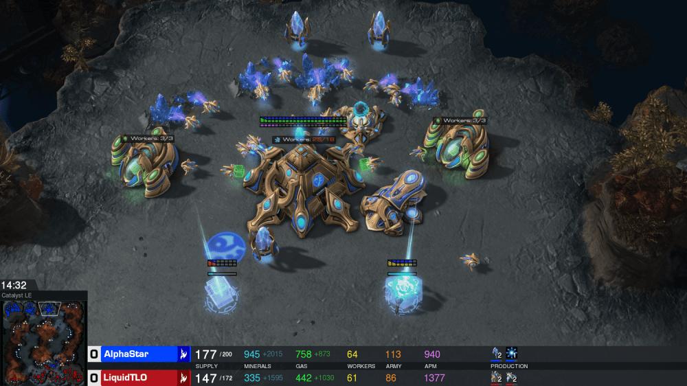 是DeepMind團隊再以人工智慧系統擊敗《星海爭霸II》電競選手這篇文章的首圖